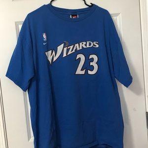 Jordan wizards jersey t-shirt